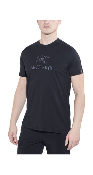 Arc'teryx Arc'word SS T-Shirt Men BLACK/IRON ANVIL